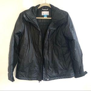 Columbia Black Jacket Size M